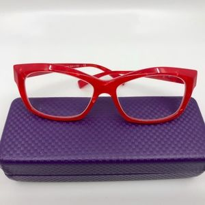 1123924de2 Alain Mikli Red Prescription Glasses Frame